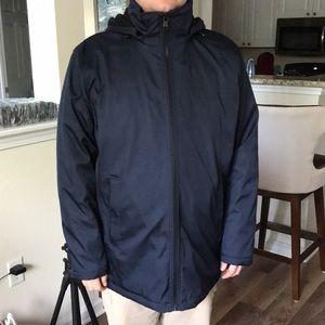 NWOT Calvin Klein men's winter jacket dark blue XL